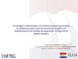 Las Negociaciones Internacionales sobre Cambio