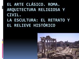 El arte romano - Biblioteca Escolar Digital