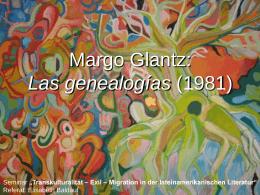 Las genealogías (1981) von Margo Glantz