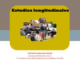 ESTUDIO LONGITUDINAL ENVEJER EN ESPAÑA