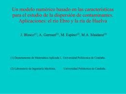 Un modelo numérico basado en las características para el estudio