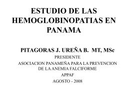 Estudio I - Appaf Panamá