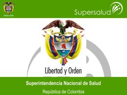 Informes de Gestión 2007 - Superintendencia Nacional de Salud