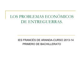 estancamiento económico mundial - E