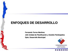 Enfoque de Desarrollo - Asociación Chilena de Municipalidades