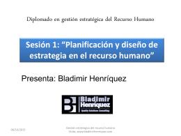 Planificación y diseño de estrategia en el recurso humano