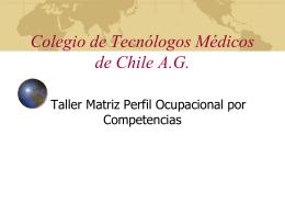 Colegio de Tecnólogos Médicos de Chile A.G.