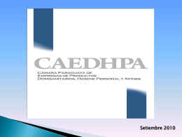 Presentación CAEDHPA