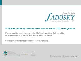 Fundación Sadosky - Consulado General de la República Argentina
