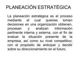 PLANEACIxN_ESTRATxGICA