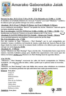 Diapositiva 1 - Asociación de Vecinos de Amara Osinaga