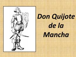 Presentación PowerPoint Don Quijote