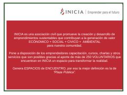 Ventajas - INICIA