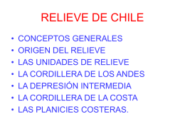 Relieves_Chile - Colegio Humberstone