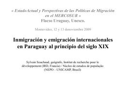 Caso Paraguay – Sylvain Souchaud
