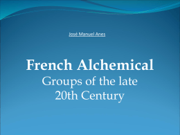 French Alchemical