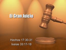 El Gran Juicio