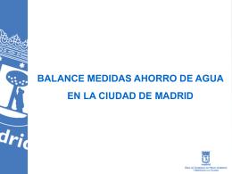 AHORRO AGUA (BUENO) - Ayuntamiento de Madrid