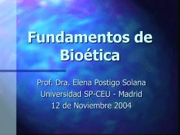 Orígenes de la bioética