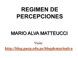Declaración y Deducción de la Percepción a cargo del Cliente