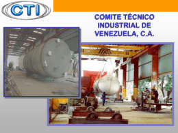 comite técnico industrial de venezuela, ca experiencia