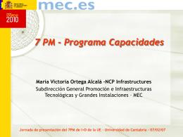 Actividades - Universidad de Cantabria