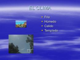 107_EL CLIMA. SILENY MUÑOZ