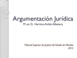 Argumentacion-TSJ-2013 - Tribunal Estatal Electoral