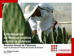 FUNDEMEX - Junta de Asistencia Privada Sinaloa