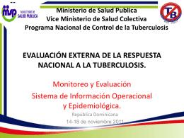 SISTEMA DE INFORMACIÓN OPERACIONAL Y EPIDEMIOLOGICA