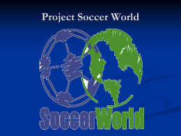 Project Soccer World