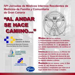Residente - Sociedad Canaria de Medicina Familiar y Comunitaria