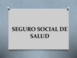 Seguro social de salud - ISAPRE y FONASA