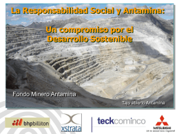 Fondo Minero Antamina