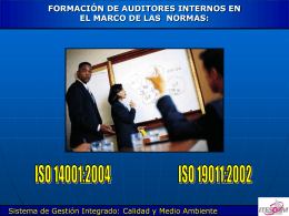 Curso Auditor ISO 14001:2004