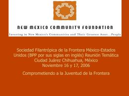 Sociedad Filantrópica de la Frontera México