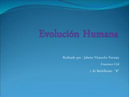 Evolución Humana final 3
