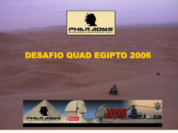 Diapositiva 1 - Pharaons Rally