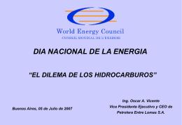 Año 2005 - Comité Argentino Consejo Mundial de Energía