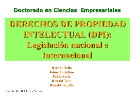 propiedad intelectual - Instituto de Investigaciones de la Amazonía