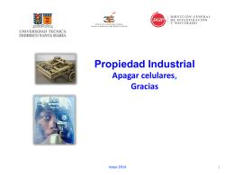 Propiedad Industrial Seminario DGIP-3ie