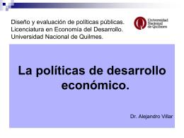 Diapositiva 1 - Universidad Nacional de Quilmes