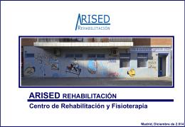 Descargar! - ARISED Rehabilitación y Fisioterapia