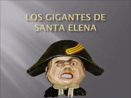 LOS GIGANTES DE SANTA ELENA POWER POIN