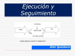 Implantación ----Ejecución(1) - uptm pnf