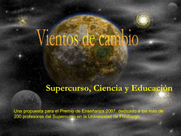 Supercourse, Science and Education in Spanish