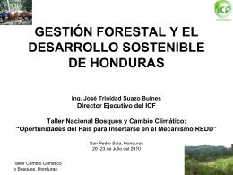 ICF - Agenda Forestal Hondureña