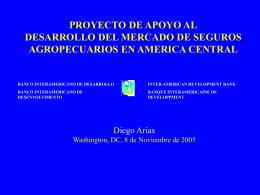 PRSENTACION PROYECTO SEGUROS AG FIDES
