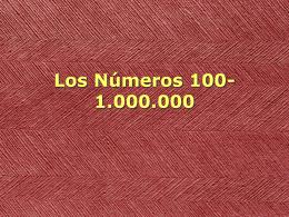 Numeros 100