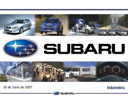 Desafío Subaru… …48 horas test drive